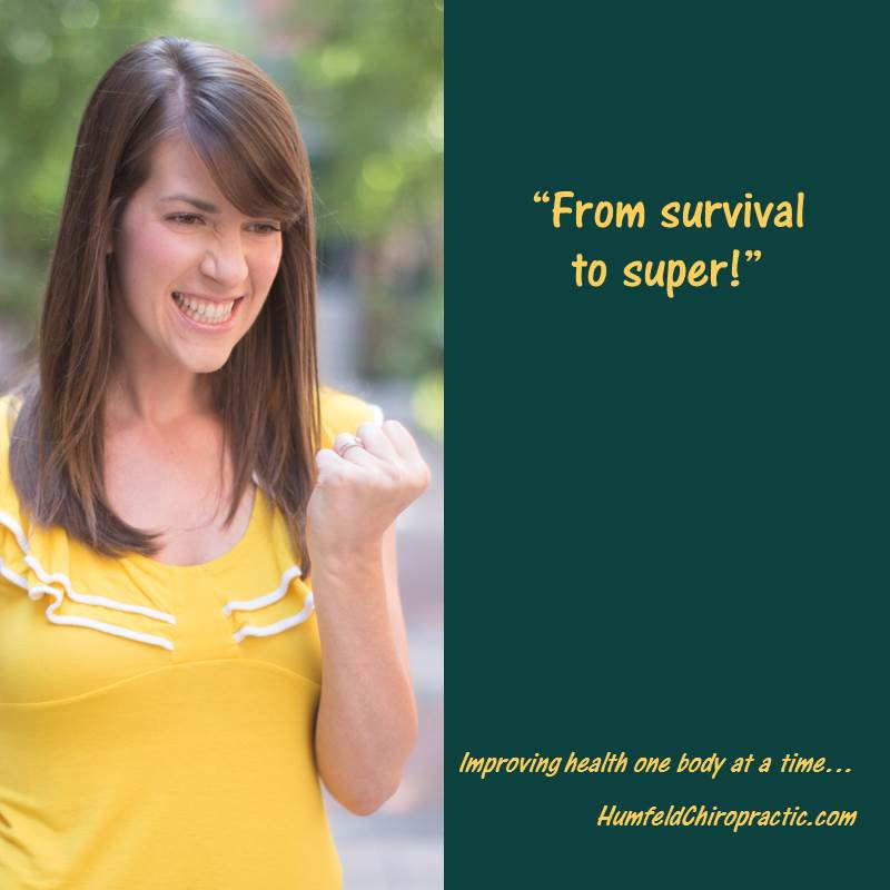 From survival to super with natural healing